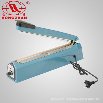 Aluminio hierro acero inoxidable cuerpo plástico mano sellador Selladora de papel marrón con el transformador de cobre