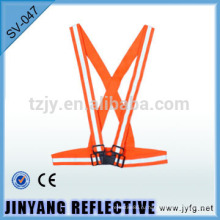 оранжевый светоотражающий эластичный безопасности