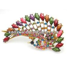 Chinês estilo moda cabelo clip jóias