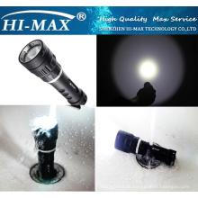 Heißer Verkauf Tauchen-Unterstützungslicht 1000lm xm-l u2 führte Tauchen-Taschenlampe