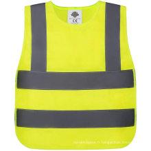 Gilet de sécurité haute visibilité pour enfants