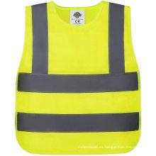 Chaleco de seguridad de alta visibilidad para niños