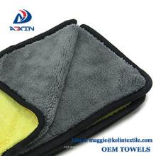 Limpeza dobro do carro do microfiber de side1200gsm que detalha a toalha for sale