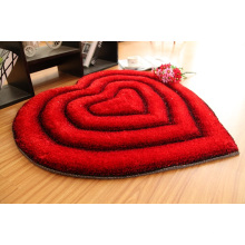 Chinese Silk Shaggy Polyester Carpet