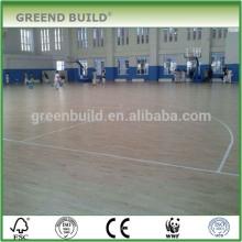 Paneles de madera maciza de abedul paneles de baloncesto