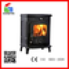 CE clássico antigo ferro fundido de madeira fogão a lenha-WM701A