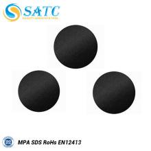 Discos de lixar fixadores de gancho e laço SATC Discos de lixamento bons com tamanhos diferentes
