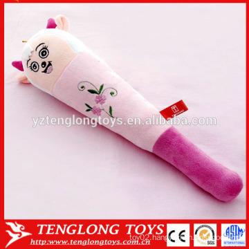 Soft cartoon sheep plush massage stick,plush massage hammer,plush massage wand