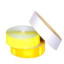alta visibilidad de color prismático reflexivo cinta reflexiva del PVC 200cd