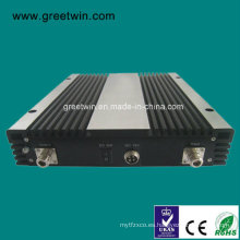 30dBm GSM850 + PCS1900 + Aws1700 + Lte2600 Amplificador del teléfono móvil / repetidor de la señal del teléfono celular (GW-30CPAL)