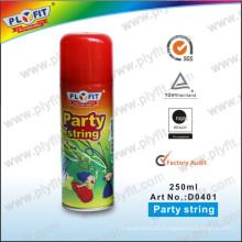 Nicht brennbare Feier Crazy Party Spray String