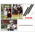 Kustom Grafis Karbon Komposit Lacrosse Shaft Stick