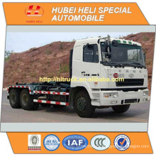 CAMC 6x4 270hp 18CBM hook lift garbage truck in good quality for sale In China