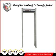 Détecteur de métaux de la porte de détection de sécurité de la meilleure qualité