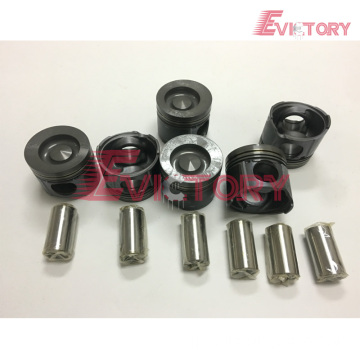 Excavator parts D6D piston connecting rod crankshaft