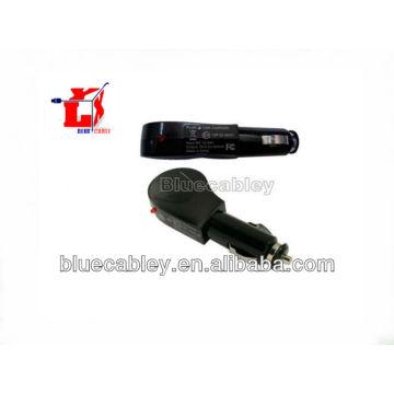5V500MA pistola como cargador de coche negro para MP3 / MP4 / Bluetooth