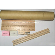 Eco Bleistift Briefpapier Set in Runde Papier Tube