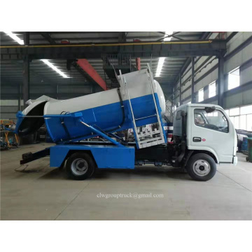 Dongfeng 5CBM Kitchen sampah truk