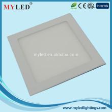 Высокая эффективность 20w привело панели свет офис 220x220 светодиодные потолочные панели освещения