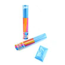 Couleur Run Holi Poudre Gulal Poudre Shooter Transparent Tube Fumée Confetti Cannon pour Sport Célébration