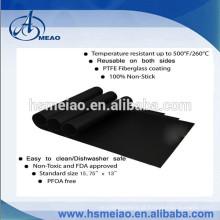 Esteira de churrasqueira de revestimento de fibra de vidro PTFE