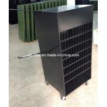 Stainless Steel & Metal & Wooden & Acrylic Crockery Display Rack Stand,