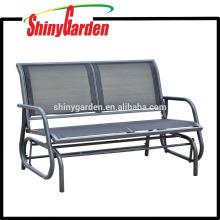 Amazon Outdoor Patio Swing Glider Bench Chair - Dark Gray