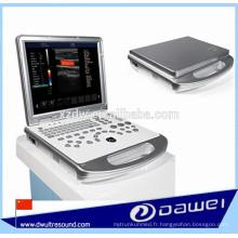 machine portative d'ultrason de Doppler et machine portative d'échographie de balayage prix DW-C60