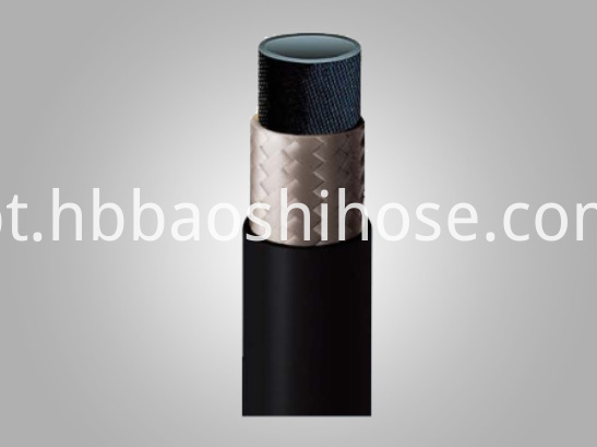 One Layer Rubber Tube Fiber Braided
