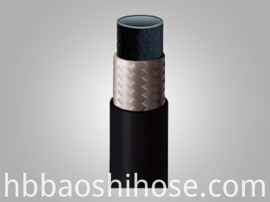Single Fiber Braid Reinforcement Rubber Hose