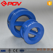 A bolacha conecta a válvula de verificação dupla da placa do material do ferro fundido