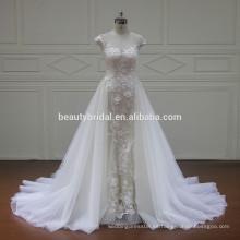 XF16073 vestidos de boda más nuevos de los diseños con los vestidos nupciales del tren 2017