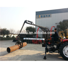 log crane loader, guindaste de log para caminhão