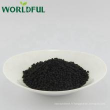 acide granulaire acide humique avec de l'urée urée noire engrais chimique