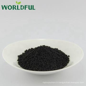 granule d'acide humique organique worldful naturel de leonardite, acide humique pour l'additif d'engrais