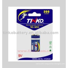 nimh battery 9V with good quality
