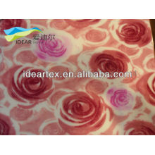 Knitting flannelette kind of printing