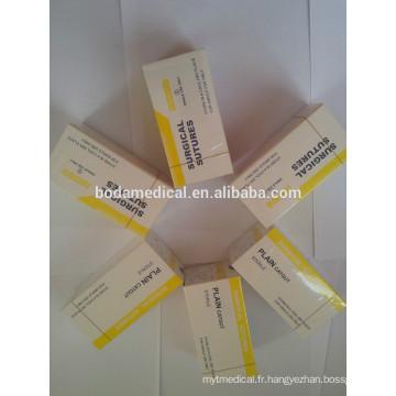 Absorbable Suture chirurgicale fournisseurs de catgut chromique