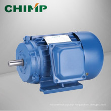 Y series three-phase cast iron casing asychronoous AC electric motor made by CHIMP