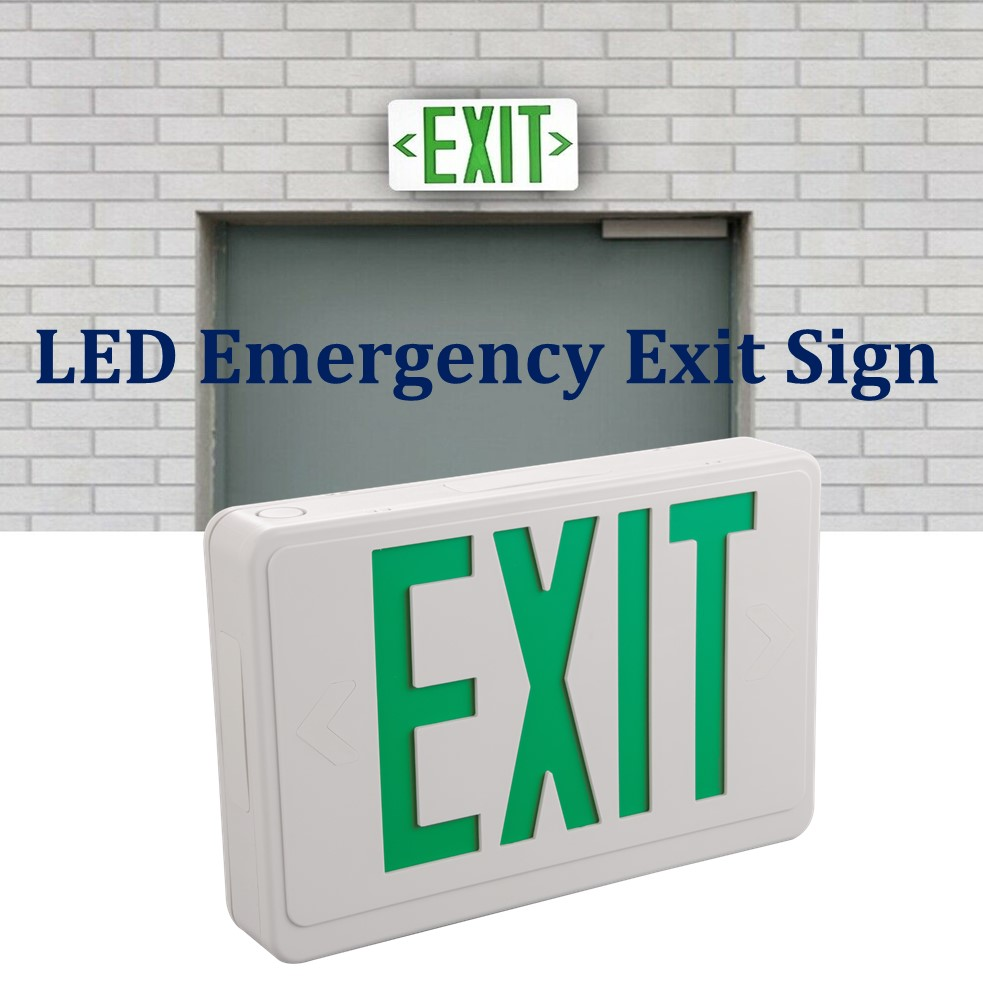 LED emergency ABS Exit sign