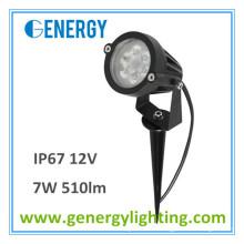 Geführte Gartenlampe 12V im Freien mit der Spitelandschafts-Beleuchtung 7W 510lm