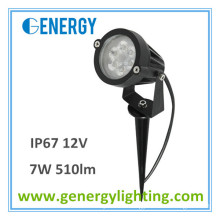 landscape lighting manufacturers china 12V 7w IP67 510lm LED garden light