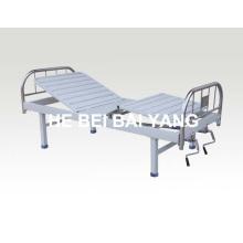 A-129 cama de hospital manual de duas funções