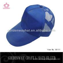 Gorra de béisbol de malla de poliéster gorra de béisbol coreana