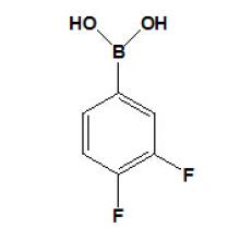 3,4-дифторфенилбороновая кислота CAS № 168267-41-2