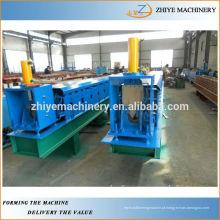 Metal galvanizado de telhado de água de aço Guttering Perfil Roll formando máquina