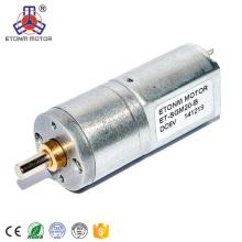 Motor micro de la CC del motor de la cerradura de la puerta del coche 20m m