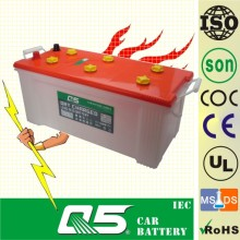 N150, bateria de ácido de chumbo automóvel carregada a seco