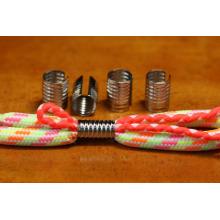 custom metal cord end / Round metal clips shoelace metal aglet