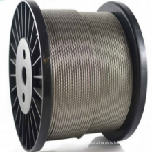 6X19+FC Dia1.5mm to 28mm stainless steel rope
